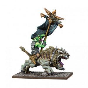 Mantic Kings of War  Goblins Goblin Flaggit on Mawbeast - MGKWG207 - 5060469666181