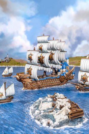 Mantic Kings of War Armada  Basileans Basilean Dictator - MGARB401 - 5060469666778
