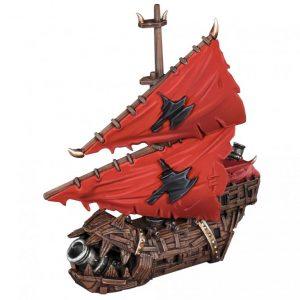 Mantic Kings of War Armada  Orcs Orc Bombboat - MGARO202 - 5060469667485
