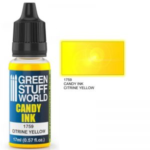 Green Stuff World   Candy Ink Candy Ink CITRINE YELLOW - 8436574501186ES - 8436574501186