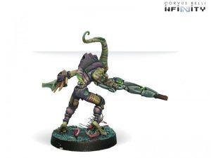 Corvus Belli Infinity  Combined Army Shasvastii Cadmus (Combi Rifle) - 280624-0179 - 2806240001795