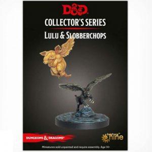 Gale Force Nine Dungeons & Dragons  D&D Miniatures D&D: Lulu and Slobberchops - GFN71093 - 9420020248373