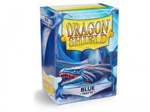 Dragon Shield   Dragon Shield Dragon Shield Matte Sleeves Blue (100) - DS100MBLU - 5706569110031