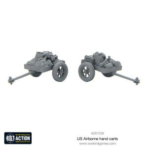 Warlord Games Bolt Action  United States of America (BA) US Airborne Hand Carts - 403013109 - 5060393709862