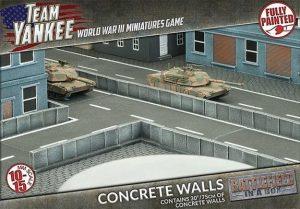 Gale Force Nine   Battlefield in a Box Team Yankee: Concrete Walls - BB191 - 9420020229839