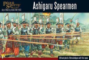 Warlord Games Pike & Shotte  SALE! Ashigaru Spearmen - 202014002 - 5060393706922