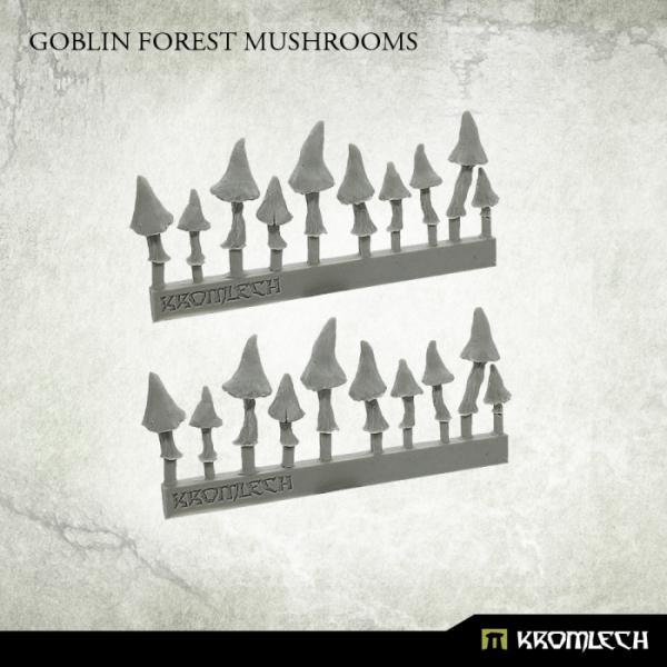Kromlech   Basing Extras Goblin Forest Mushrooms (20) - KRBK026 - 5902216117747