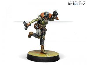 Corvus Belli Infinity  Non-Aligned Armies - NA2 Warcors, War Correspondents (Stun Pistol) - 280728-0690 - 2807280006900