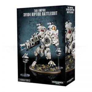 Games Workshop Warhammer 40,000  T'au Empire T'au XV104 Riptide Battlesuit - 99120113058 - 5011921091928