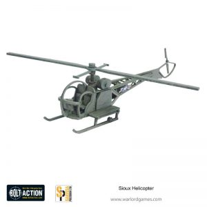Warlord Games Bolt Action  Korean War (1950-1953) Sioux Helicopter - K015 - 5060572505094