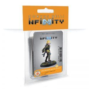 Corvus Belli Infinity  Infinity Mercenaries Aïda Swanson, Submondo Smuggler (Submachine Gun) - 280751-0861 - 2807510008612