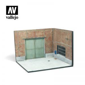 Vallejo   Vallejo Scenics Vallejo Scenics - Scenery: Factory Gate - VALSC113 - 8429551987035