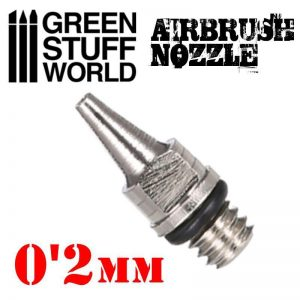 Green Stuff World   Airbrushes & Accessories Airbrush Nozzle 0.2mm - 8436554369287ES - 8436554369287