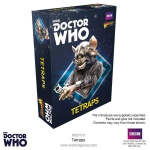 Warlord Games Doctor Who  Doctor Who Doctor Who: Tetraps - 602210124 - 5060393705543