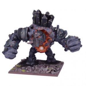 Mantic Kings of War  Abyssal Dwarves Abyssal Dwarf Greater Obsidian Golem - MGKWK101 - 5060208868425
