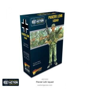 Warlord Games Bolt Action  Germany (BA) Panzer Lehr Squad - 402212010 - 5060572507203