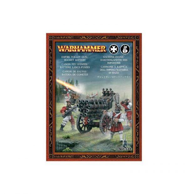 Games Workshop (Direct) Age of Sigmar  Age of Sigmar Direct Orders Freeguild Helblaster Volley Gun / Rocket Battery - 99120202014 - 5011921907311
