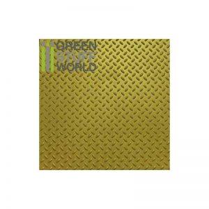 Green Stuff World   Plasticard ABS Plasticard - Thread DIAMOND Textured Sheet - A4 - 8436554361007ES - 8436554361007