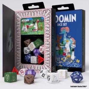 Q-Workshop   Q-Workshop Dice Moomin Dice Set - SMOM99 - 5907699495764