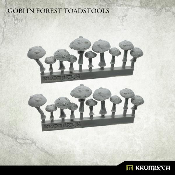 Kromlech   Orc Conversion Parts Goblin Forest Toadstools (20) - KRBK023 - 5902216117532