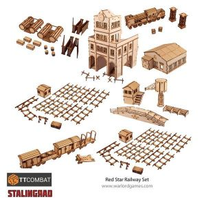 Warlord Games   World War Scenics Stalingrad Red Star Railway - TT_Stalin03 -