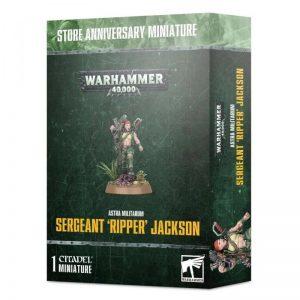 Games Workshop (Direct) Warhammer 40,000  Astra Militarum Astra Militarum Catachan Sergeant Ripper Jackson - 99120105086 - 5011921129799