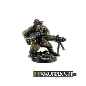 Kromlech   Orc Model Kits Orc Greatcoat MG42 Gunner - KRM035 - 5902216111585