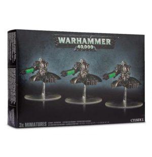Games Workshop (Direct) Warhammer 40,000  Necrons Necron Destroyer Squadron - 99120110071 - 5011921146352