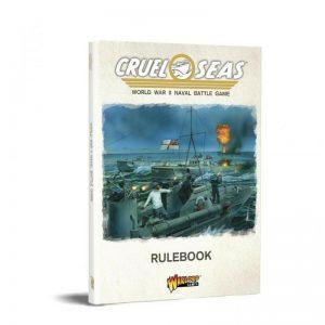 Warlord Games Cruel Seas  Cruel Seas Cruel Seas Rulebook - 781010001 - 9781911281467