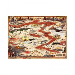 Gale Force Nine Dungeons & Dragons  D&D Game Mats D&D: Avernus City Map - GFN72793 - 9420020249370