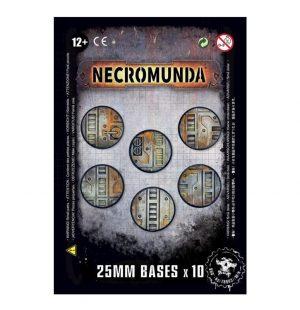 Games Workshop (Direct) Necromunda  Necromunda Necromunda: 25mm Bases - 99070599001 - 5011921096275