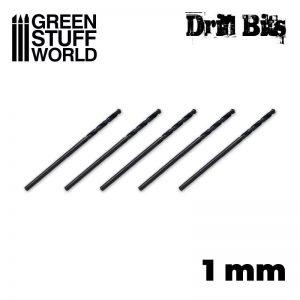Green Stuff World   Green Stuff World Tools Drill bit in 1 mm - 8436554365456ES - 8436554365456