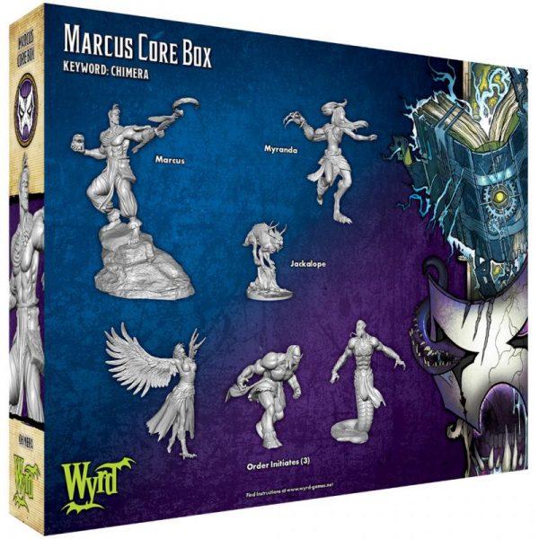 Wyrd Malifaux  Arcanists Marcus Core Box - WYR23301 - 812152030701