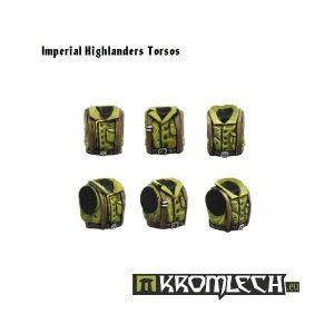 Kromlech   Imperial Guard Conversion Parts Imperial Highlanders Torsos (6) - KRCB072 - 5902216110700