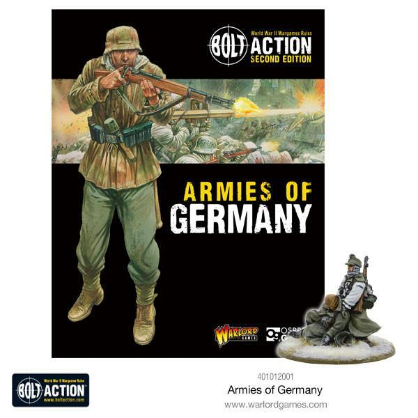 Warlord Games Bolt Action  Bolt Action Books & Accessories Armies of Germany (2nd Edition) - 401012001 - 9781472817808
