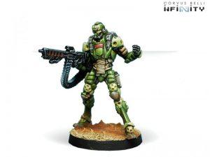 Corvus Belli Infinity  Haqqislam Janissaries (HMG) - 280470-0501 - 2804700005017