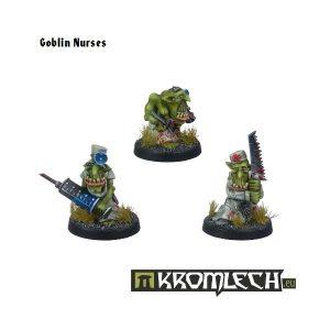 Kromlech   Orc Model Kits Goblin Nurses (3) - KRM061 - 5902216112186
