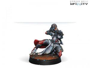 Corvus Belli Infinity  Nomads Reverend Healer (Boarding Shotgun) - 280580-0582 - 2805800005822