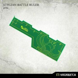 Kromlech   Tapes & Measuring Sticks Stygian Battle Ruler [green] (1) - KRGA026 - 5902216114203