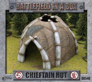 Gale Force Nine   Battlefield in a Box Battlefield in a Box: Chieftain's Hut - BB540 - 9420020218253