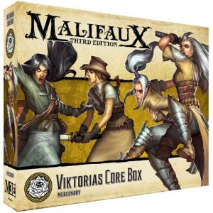 Wyrd Malifaux  Outcasts Viktorias Core Box - WYR23501 - 812152031234