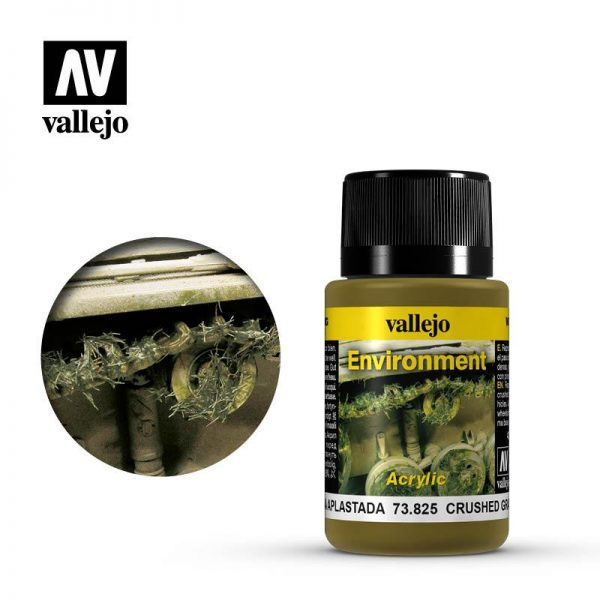 Vallejo   Weathering Effects Weathering Effects 40ml - Crushed Grass - VAL73825 - 8429551738255