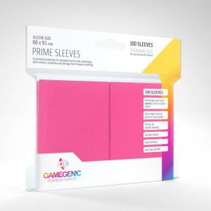 Gamegenic   SALE! Gamegenic Prime Sleeves Pink (100 pack) - GGS11024ML - 4251715402313