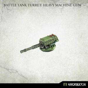 Kromlech   Imperial Guard Conversion Parts Battle Tank Turret: Heavy Machine Gun (1) - KRVB085 - 5902216119758