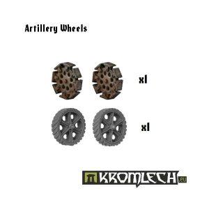 Kromlech   Vehicles & Vehicle Parts Artillery Wheels (4) - KRVB004 - 5902216111127
