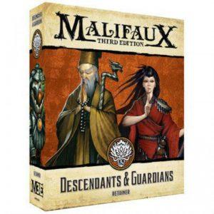 Wyrd Malifaux  Ten Thunders Descendants and Guardians - WYR23711 - 812152032736