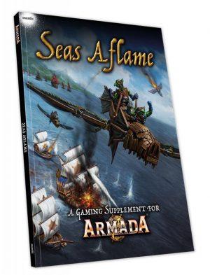 Mantic Kings of War Armada  Kings of War Armada Essentials Armada: Seas Aflame - MGARM109 - 9781911516354
