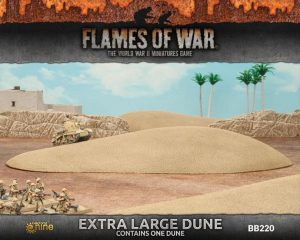 Gale Force Nine   Battlefield in a Box Flames of War: Extra Large Dune - BB220 - 9420020234758