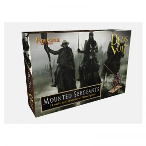 Fireforge Games   Medieval Era Mounted Sergeants - FF003 - 2621170005442