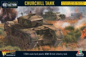Warlord Games Bolt Action  Great Britain (BA) Churchill Infantry Tank - 402011002 - 5060393704072